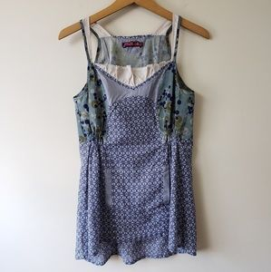 $$$ Moloko French Brand Mixed Print Tank Top
